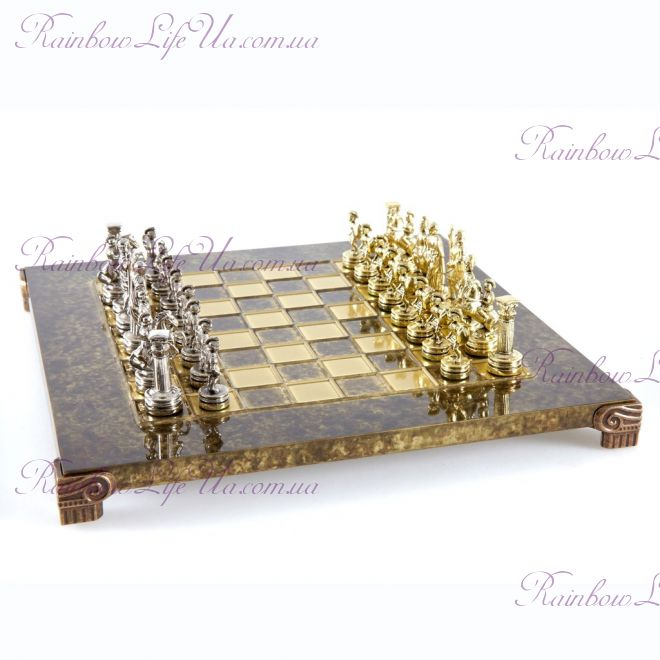 "Шахматы Греко - римская война S3BRO ""Manopoulos"""