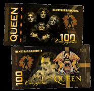 100 рублей - QUEEN - Queen II (2) .Памятная банкнота
