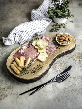 Деревянная тарелка. Необычная серия. арт. 611