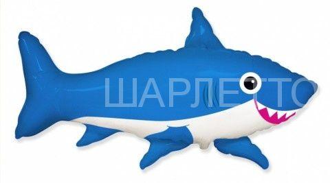 "Шар Фигура ""Акула"" Синяя"