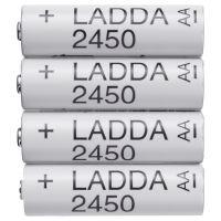 LADDA ЛАДДА, Аккумуляторная батарейка, HR6 AA 1,2 В - 103.623.07