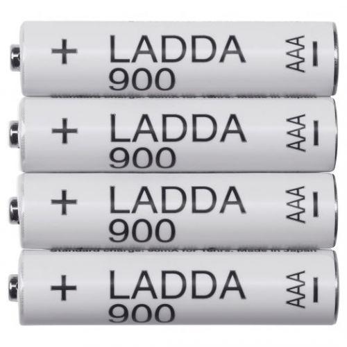 LADDA ЛАДДА, Аккумуляторная батарейка, HR03 AAA 1,2 В - 003.623.17
