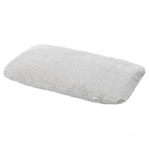 LURVIG ЛУРВИГ, Подушка, светло-серый, 46x74 см - 504.843.83