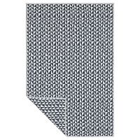 LURVIG ЛУРВИГ, Одеяло, черный/треугольник, 100x150 см - 604.843.73
