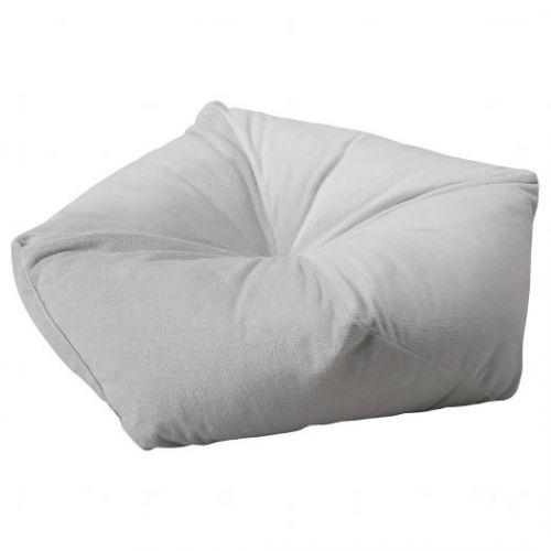 LURVIG ЛУРВИГ, Подушка, светло-серый, 53x15 см - 604.843.68