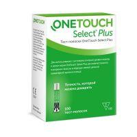 Тест полоски One Touch Select PLUS № 100