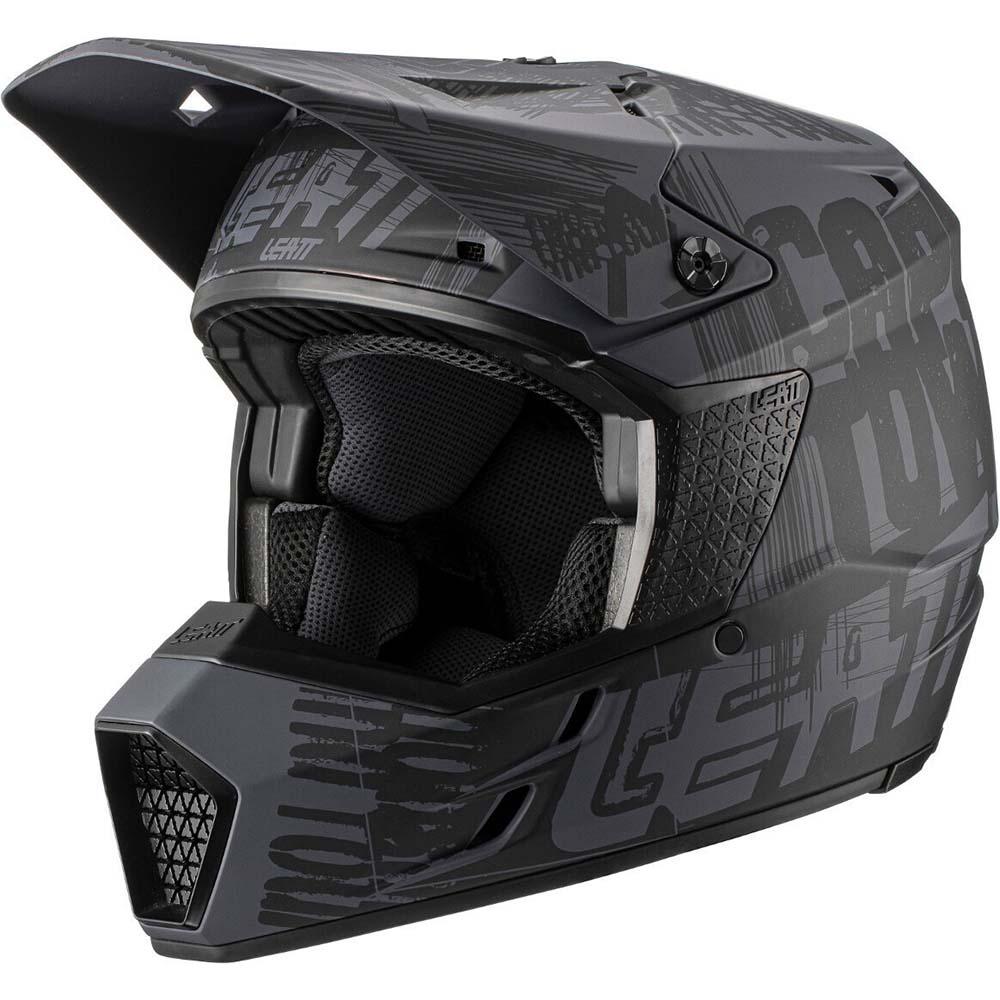 Leatt Moto 3.5 V21.1 Ghost шлем внедорожный