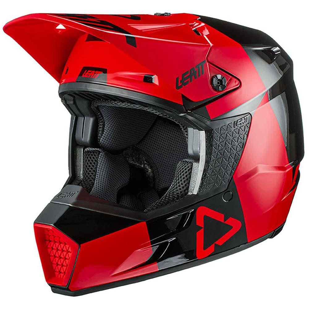 Leatt Moto 3.5 V21.3 Junior Red шлем внедорожный