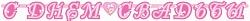 Гирлянда - буквы С Днем Свадьбы, Лилия, 210 см, 1 шт.