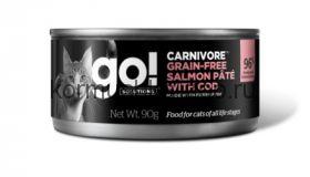Go! консервы беззерновые с лососем и треской для кошек