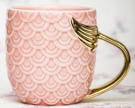 Кружка Золотая Рыбка (розовая)