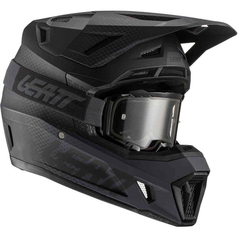 Leatt Kit Moto 7.5 V21.1 Black комплект шлем внедорожный и очки