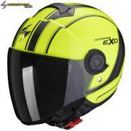 Шлем Scorpion EXO-City Scoot, Желто-черный