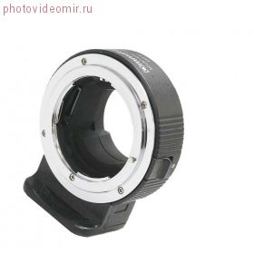 Переходное кольцо Commlite CM-ENF-E1 PRO с объективов Nikon F на байонет Sony-E