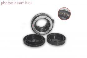 Переходное кольцо Commlite CM-FT-MFT с автофокусом для M4/3 камеры