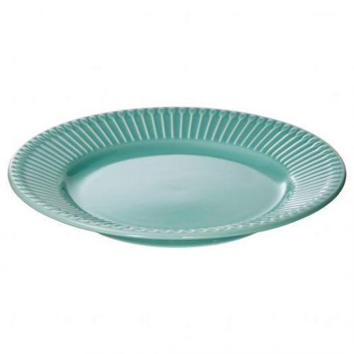 STRIMMIG СТРИММИГ, Тарелка десертная, бирюзовый, 21 см - 804.862.86