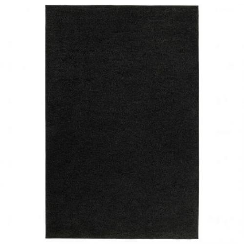 SPORUP СПОРУП, Ковер, короткий ворс, черный, 133x195 см - 304.876.41