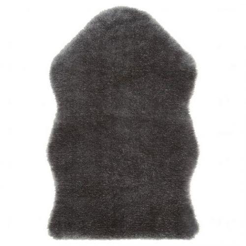 TOFTLUND ТОФТЛУНД, Ковер, серый, 55x85 см - 004.810.18