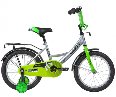 "Велосипед NOVATRACK 16"" VECTOR серебристый"
