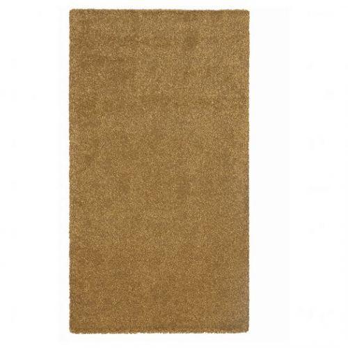 STOENSE СТОЭНСЕ, Ковер, короткий ворс, темный золотисто-коричневый, 80x150 см - 504.821.38
