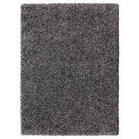 VINDUM ВИНДУМ, Ковер, длинный ворс, темно-серый, 133x180 см - 603.743.79