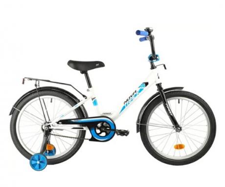 """Велосипед NOVATRACK 18"""" FOREST белый"""