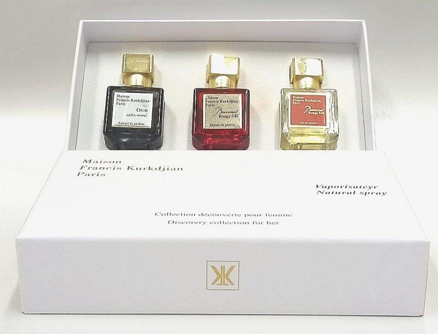 Набор парфюма Maison Francis Kurkdjian 3х25 мл