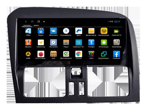 PF189AHD-Low для Volvo XC60 2007-2012 на Android 10.0 Штатная магнитола Parafar