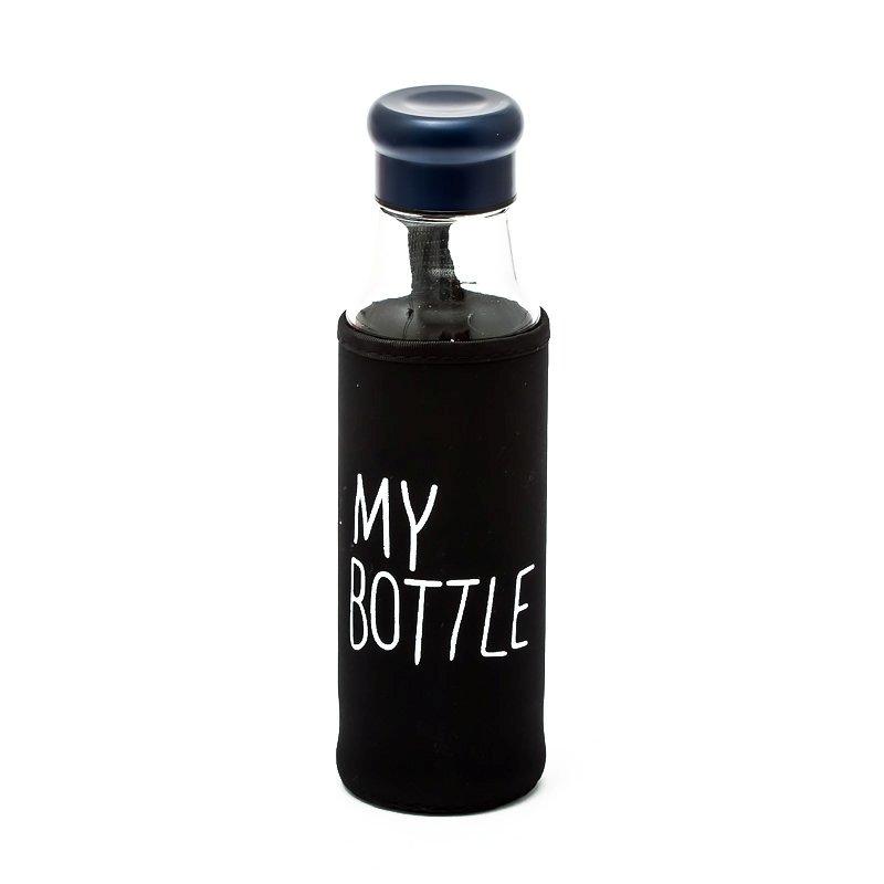 Стеклянная бутылка в чехле MY BOTTLE, 550 мл