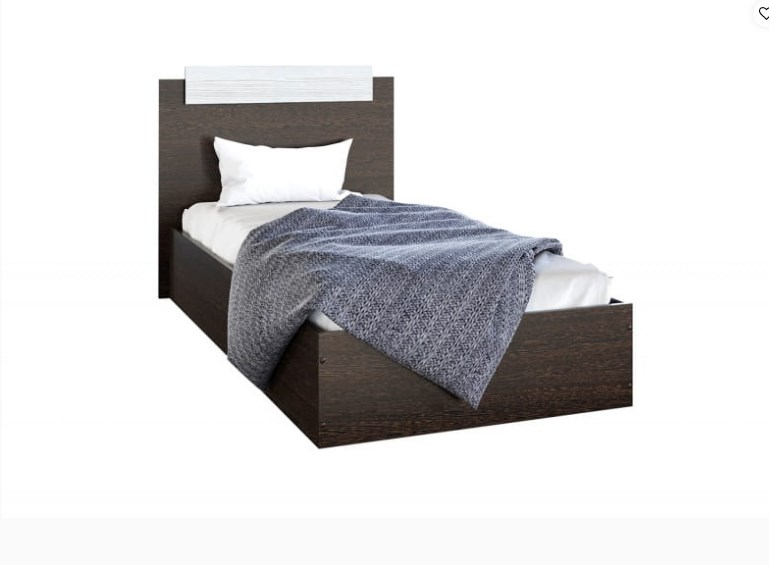 Кровать 0,9 м Эко