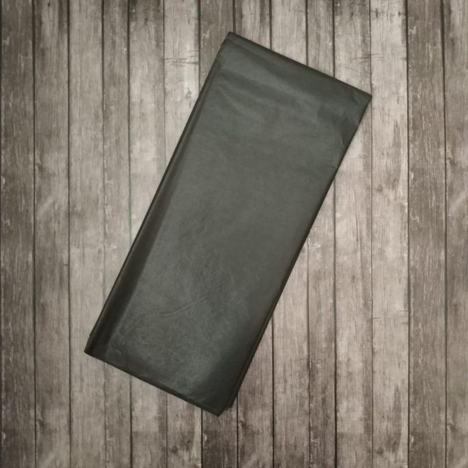 Бумага упаковочная тишью, черный, 50х66 см, набор 10 листов