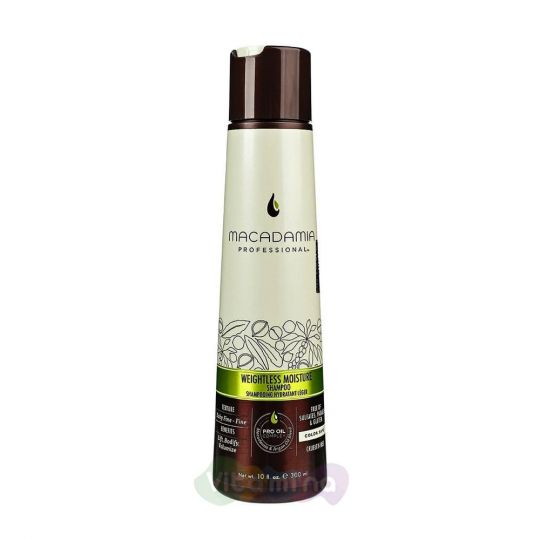 Macadamia Шампунь увлажняющий для тонких волос WEIGHTLESS MOISTURE SHAMPOO, 300 мл.