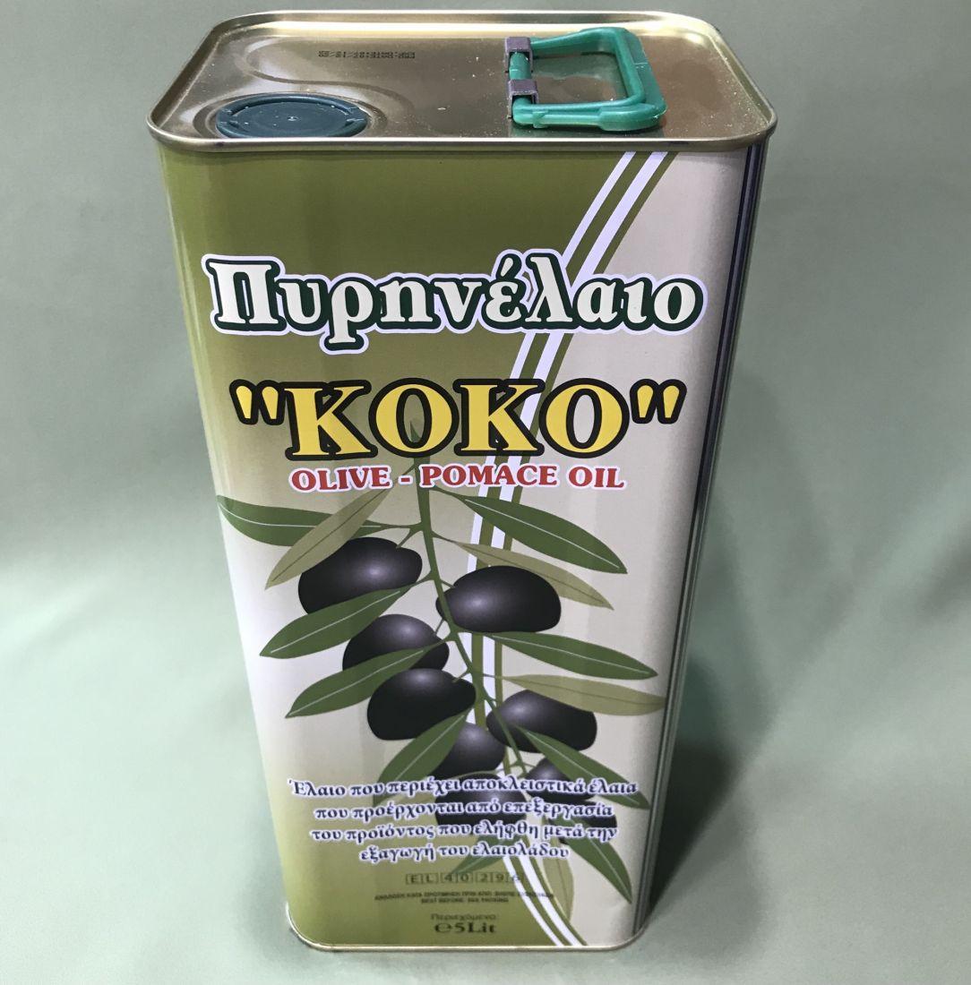 Оливковое масло KOKO  - 5 л помас, для жарки