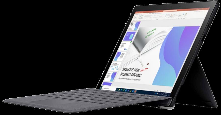 Планшет Microsoft Surface Pro 7+ i5 8Gb 256Gb (2021) (Black)