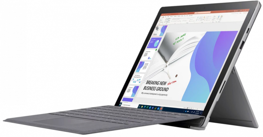 Планшет Microsoft Surface Pro 7+ i5 8Gb 256Gb LTE (2021) (Platinum)