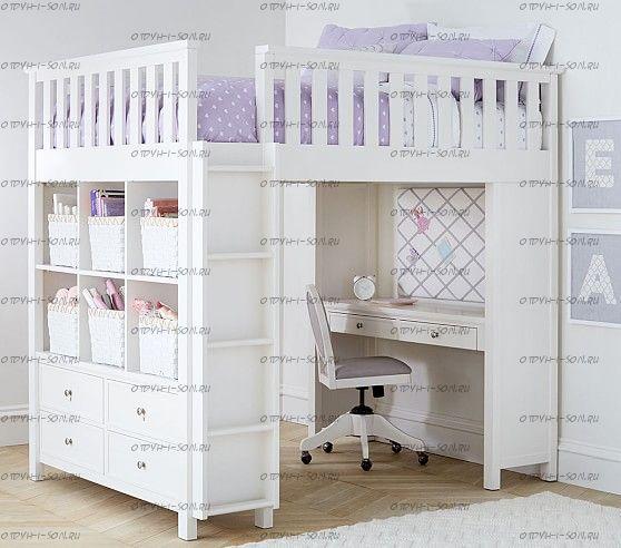 Кровать-чердак Cabinet Кадет  №12
