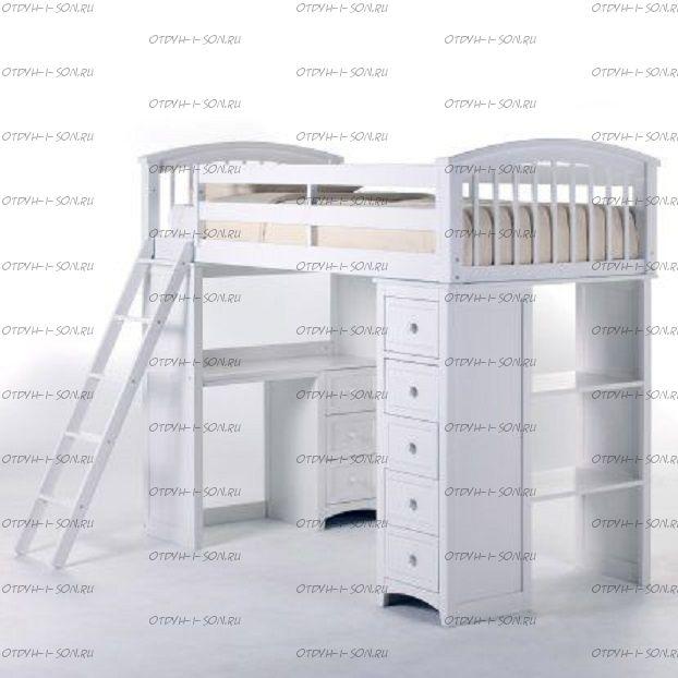 Кровать-чердак Cabinet Кадет №14
