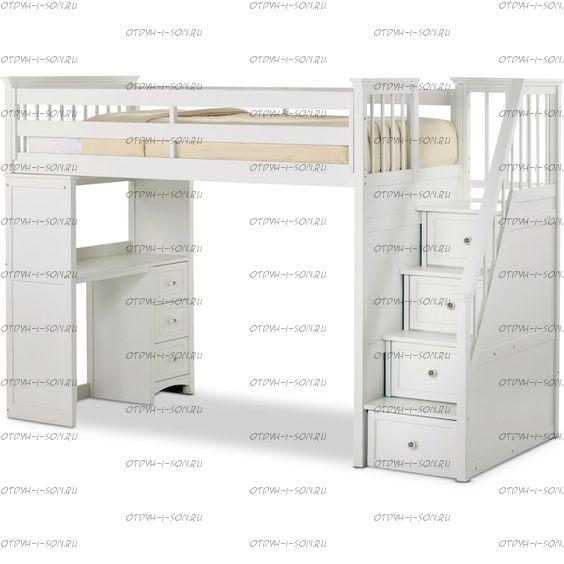 Кровать-чердак Cabinet Кадет №18