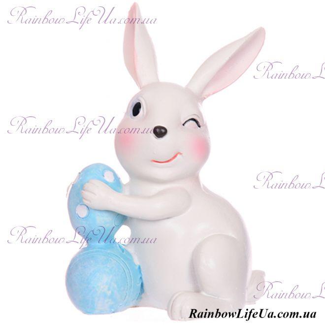 """Фигурка Кролик с пасхальным яйцом """"Lefard"""""""