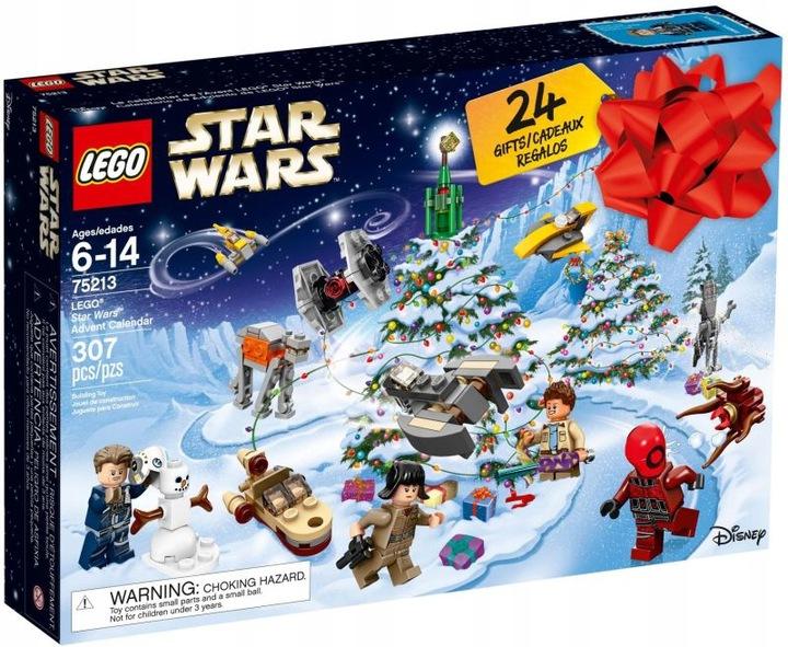 Новогодний календарь lego 75213 Star Wars