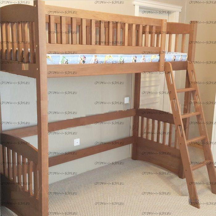 Кровать-чердак Кадет №19