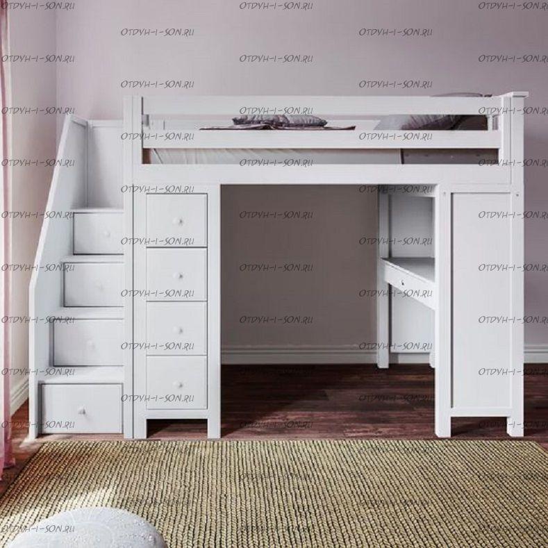Кровать-чердак Кадет №26