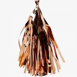 Гирлянда Тассел, Розовое Золото, Металлик, 35*12 см, 12 листов.