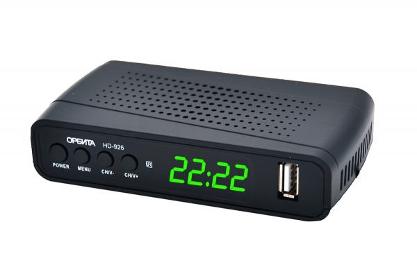 Ресивер DVB-T2 Орбита OT-DVB26 +HD плеер 1080i   (УЦЕНКА, ПОСЛЕ РЕМОНТА)