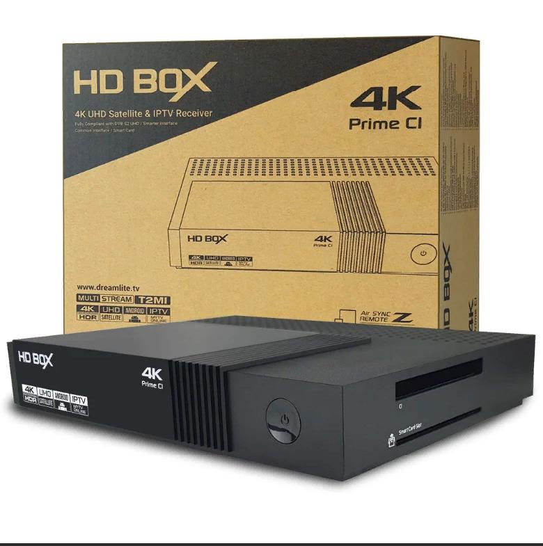 TV-тюнер HD BOX S4K Prime