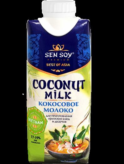 СЭНСОЙ Молоко кокосовое тетра-пак 330мл