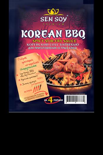 СЭНСОЙ СОУС ДЛЯ БАРБЕКЮ KOREAN BBQ 120г