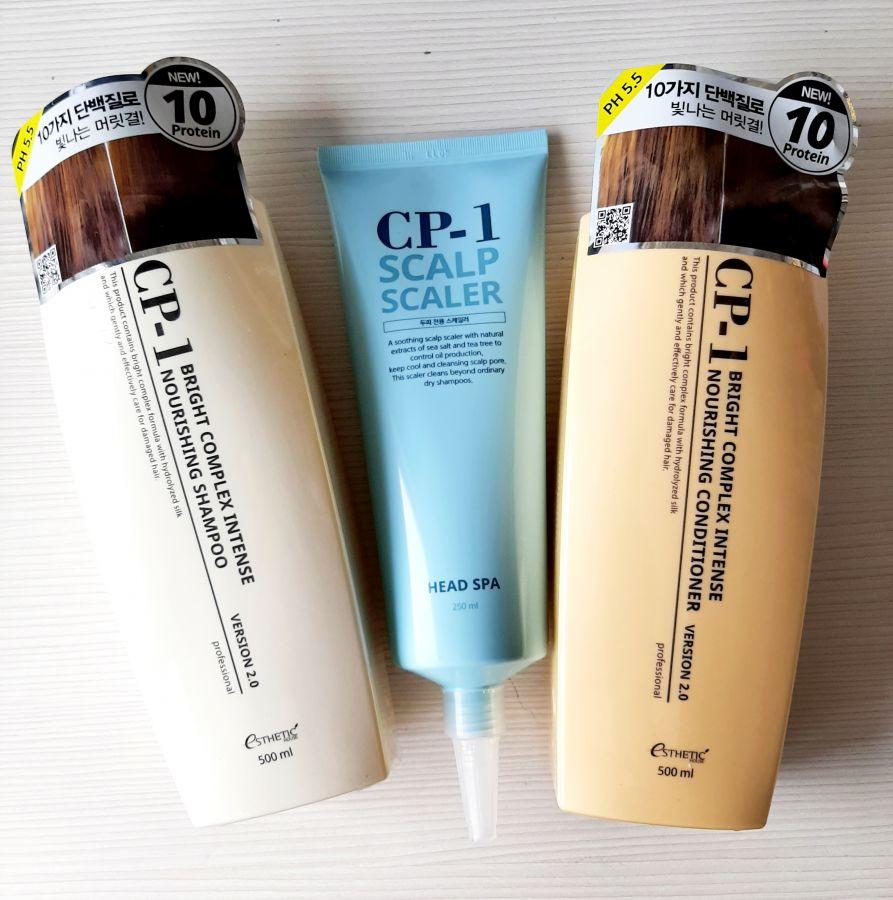Набор для волос ESTHETIC HOUSE CP-1 BС Питательный 500 (шампунь+кондиционер+ средство для очищения кожи головы)