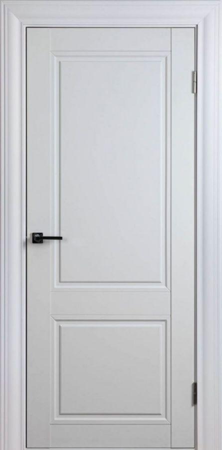 Дверное полотно Scandinavia-1F Белый Шёлк