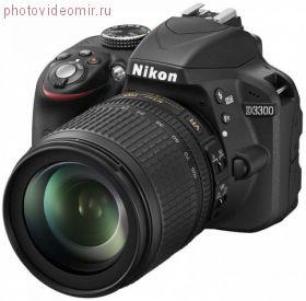Зеркальный фотоаппарат Nikon D3300 Kit 18-105 AF-S DX G VR